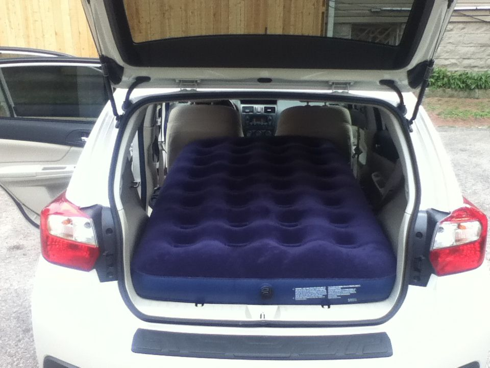 Sleeping Quarters For 1 Subaru Outback Offroad Suv Camping Tips My Dream