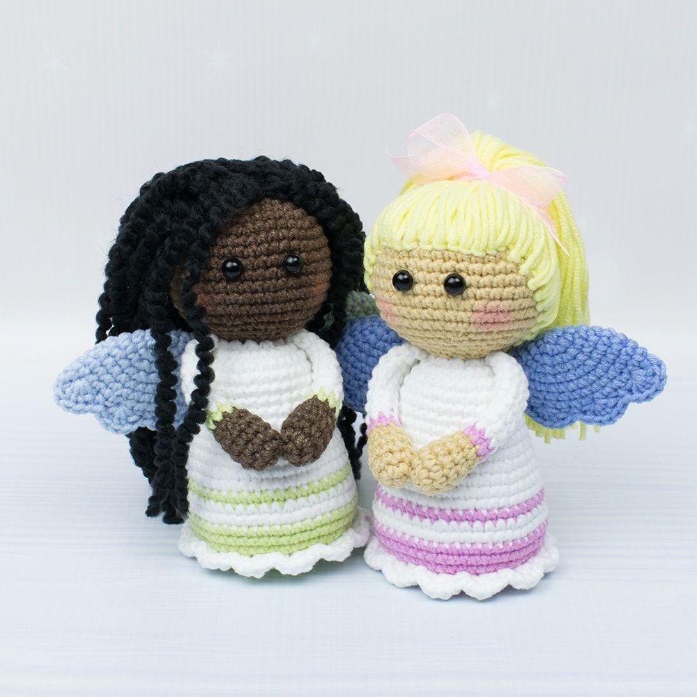 Patrones de Angeles tejidos a Crochet | Paso a paso | 1000x1000