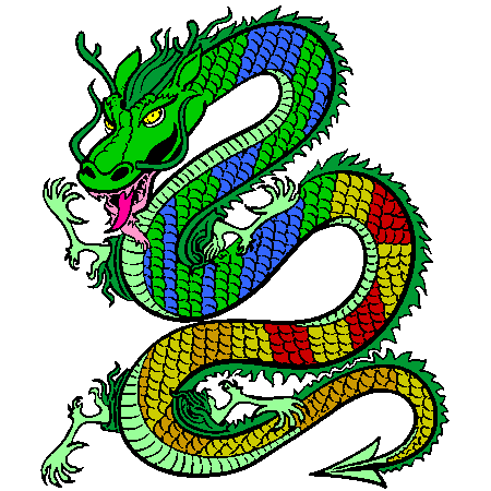 Coloriage dragon de chine a imprimer bo tes cadeaux pinterest dragon et chine - Coloriage de chine ...