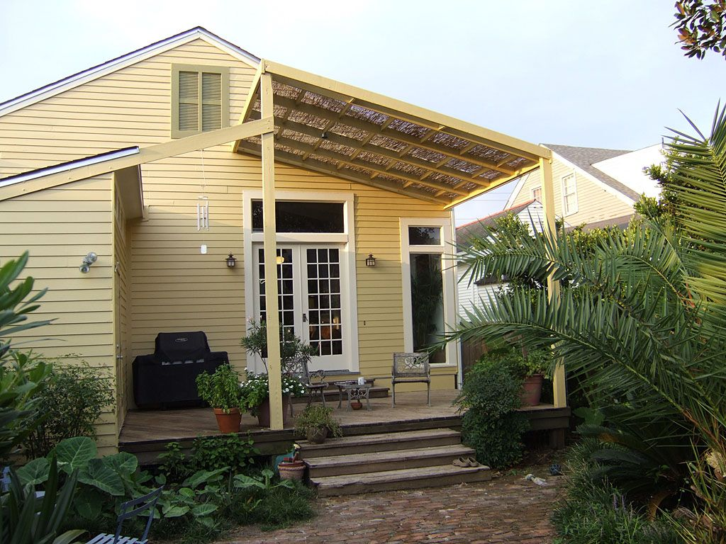 Exterior natural yellow paint colors for house exterior on the tropical house with nice