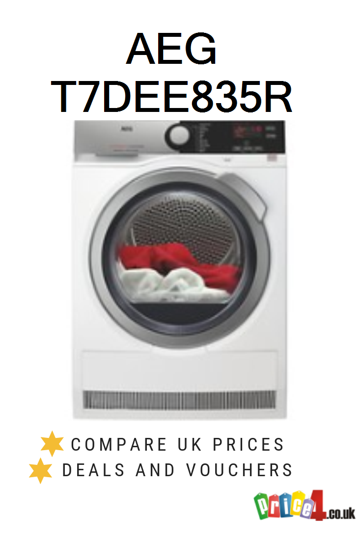 Aeg T7dee835r Uk Prices Tumble Dryers Price Compare Price