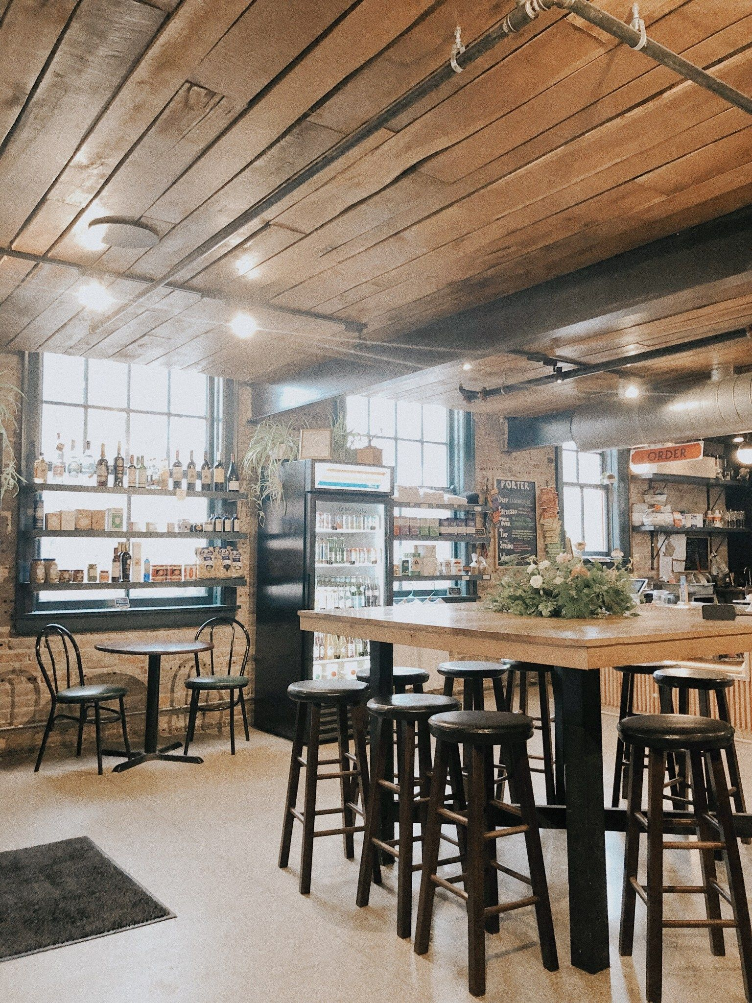 Local Coffee Shop Vibes Porter Coffee Madison Wisconsin How To Make Sandwich Local Coffee Shop Food Tracker