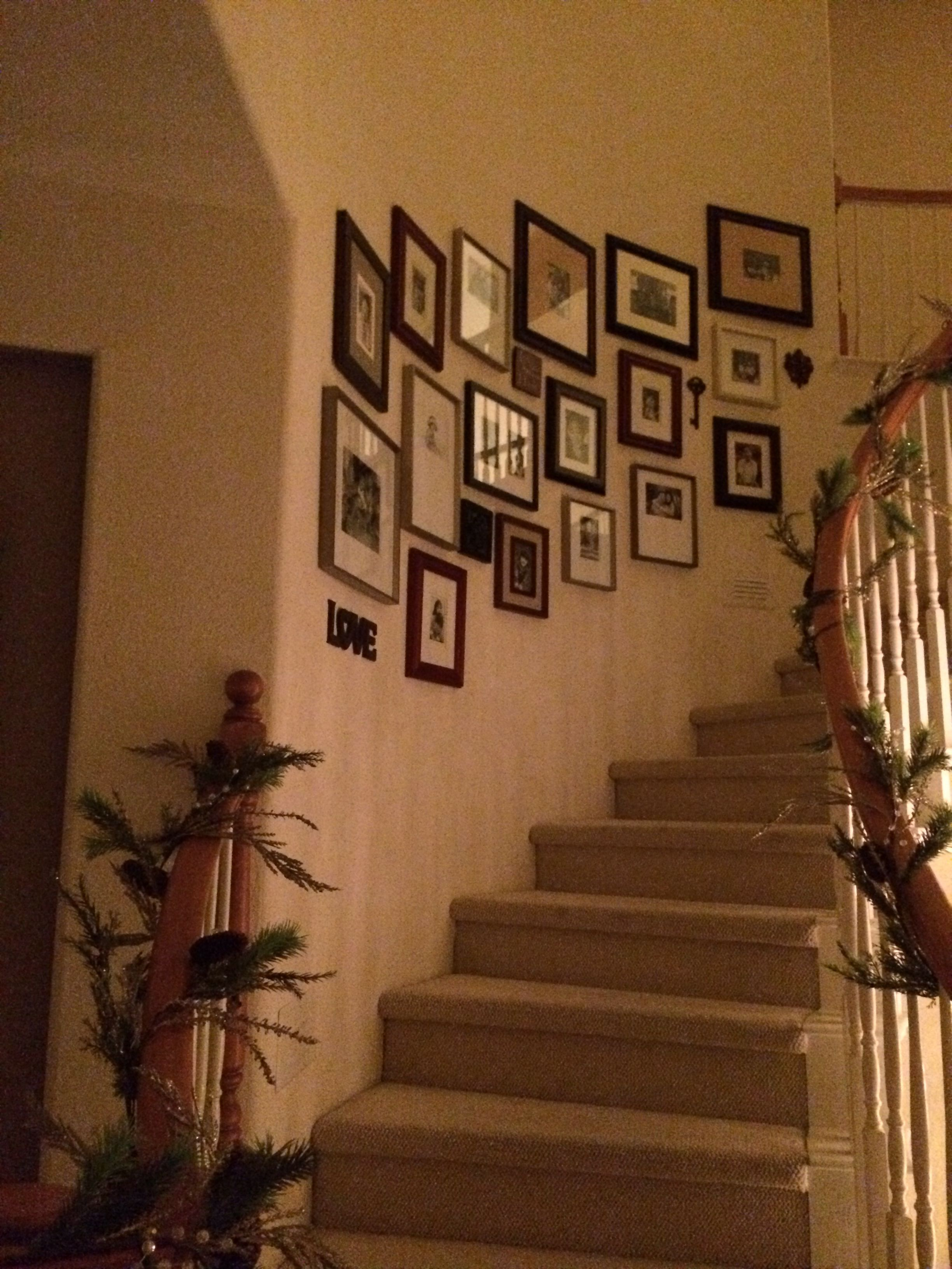Best Wall Gallery On Curved Staircase Gallery Wall Staircase 400 x 300