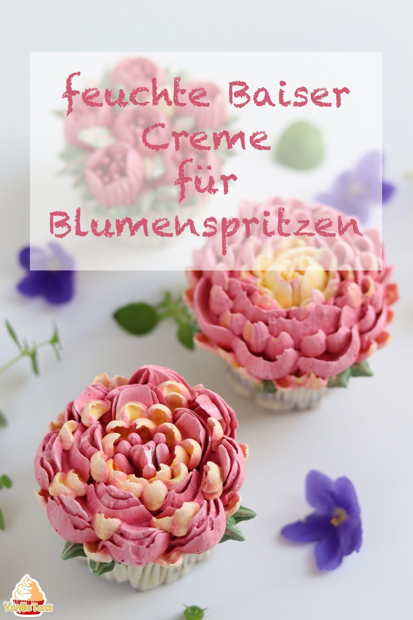 Feuchte Baiser Creme | Creme, Super und Blumen