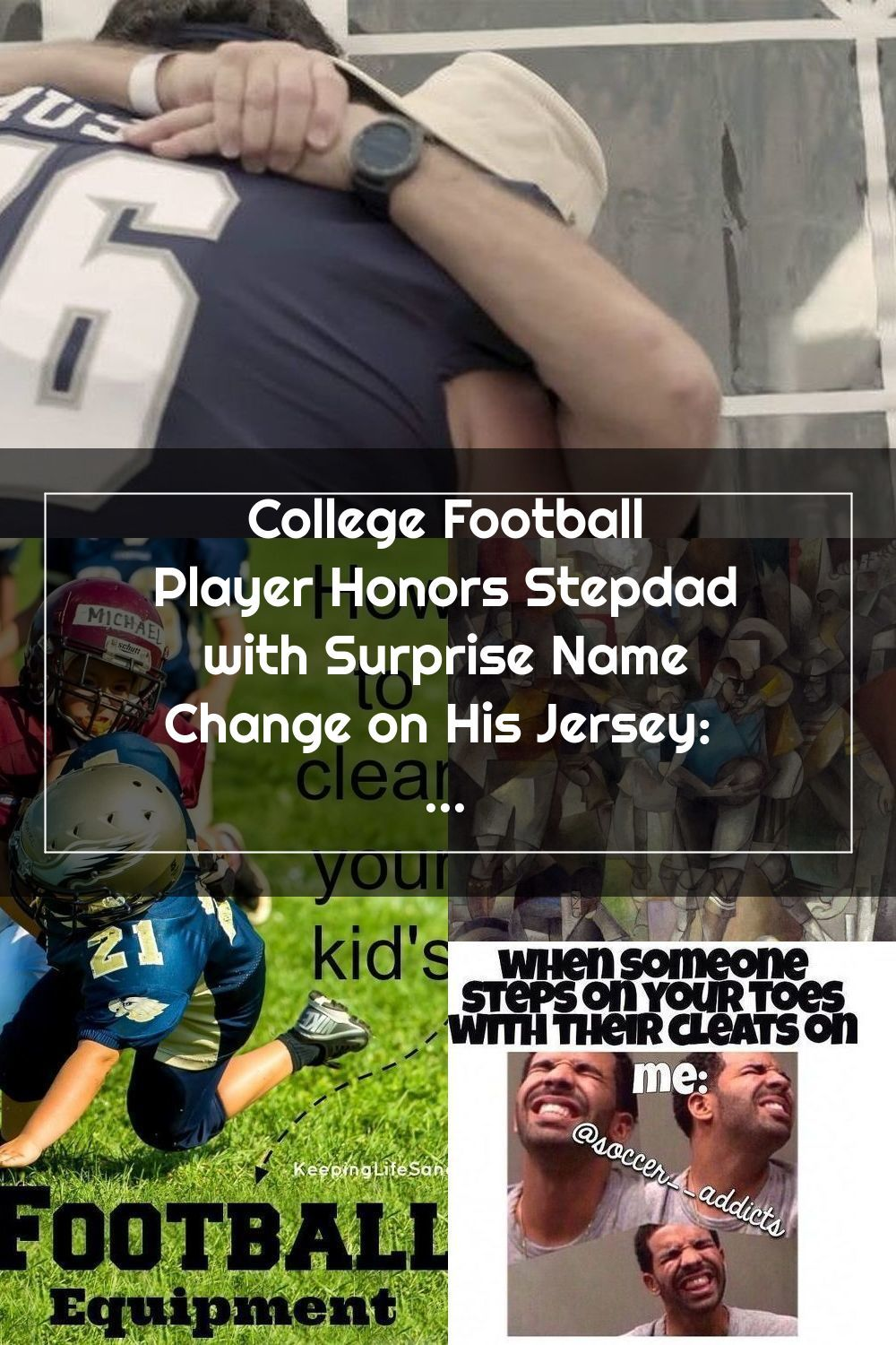 College Football Player Honors Stepdad With Surprise Name Change On His Jer En 2020