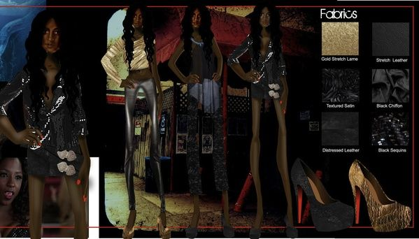 True Blood- A Study In Character and Fashion by Freelance Fashion Designer NYC , Styles dealing with Tara