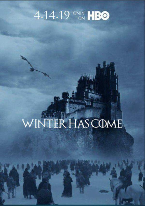 Game of thrones season 8 will premier on april 14 2019 for Konigin der nacht film