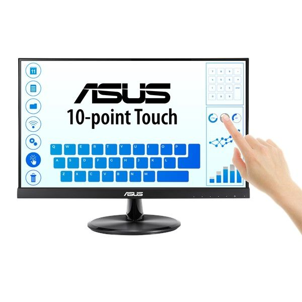 "ASUS VT229H Touch Monitor - 21.5"" (1920x1080), 10-point Touch, IPS, HDMI The ASUS VT229H touchscreen monitor combines 10-point multi-touch capability with superb image quality, flexible connectivity and great ergonomics. ... The ASUS VT229H has IPS display that delivers expanded vision, consistent and accurate color at 178°-wide viewing angle."