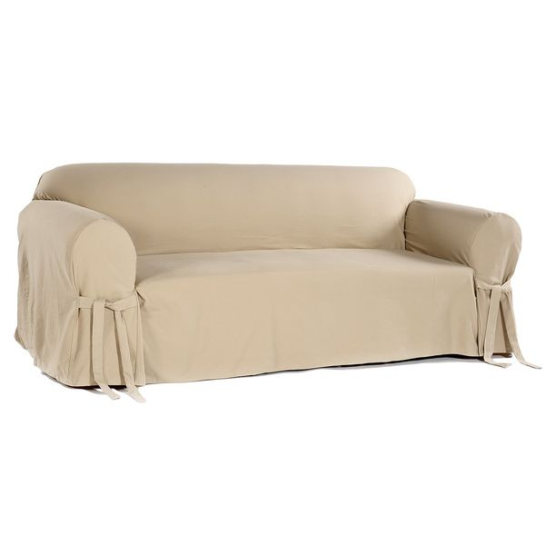 Brushed Twill Sofa Slipcover 929579 Ping S On Slipcovers
