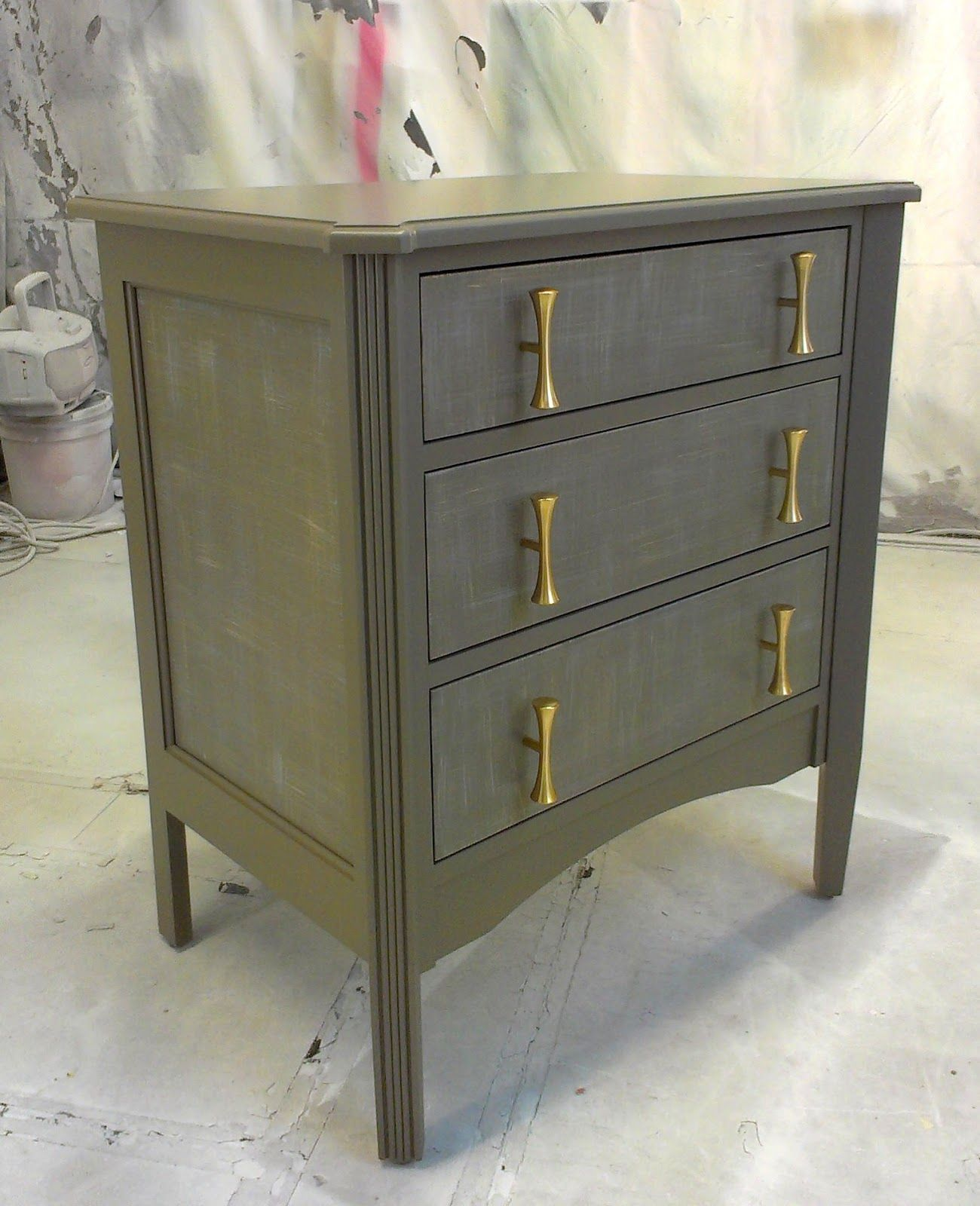 Sydney barton painted furniture note the drawer pulls are