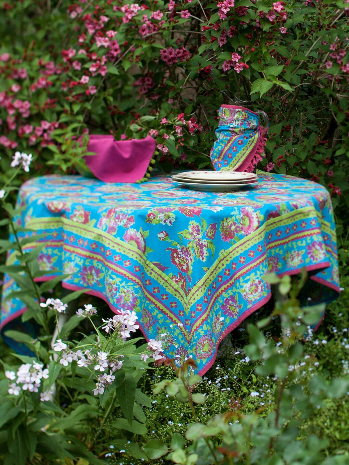 Jordan Tablecloth   Turquoise | Shop All Collections, Table Linens U0026  Kitchen, Hot House