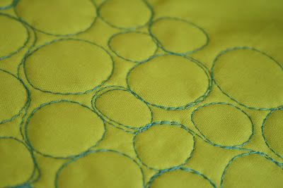 crazy mom quilts -- pebble quilting - awesome!
