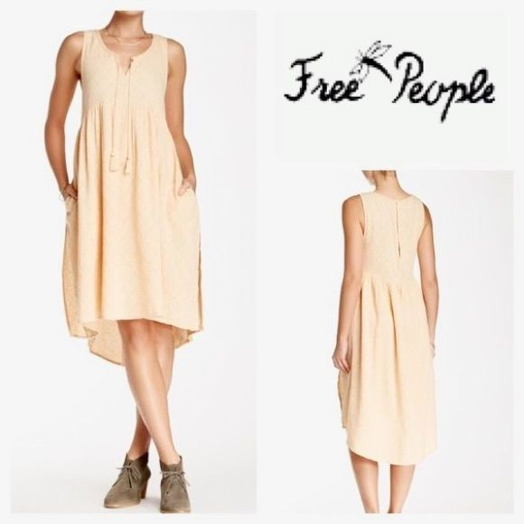 Free People Hi Low Dress Size S
