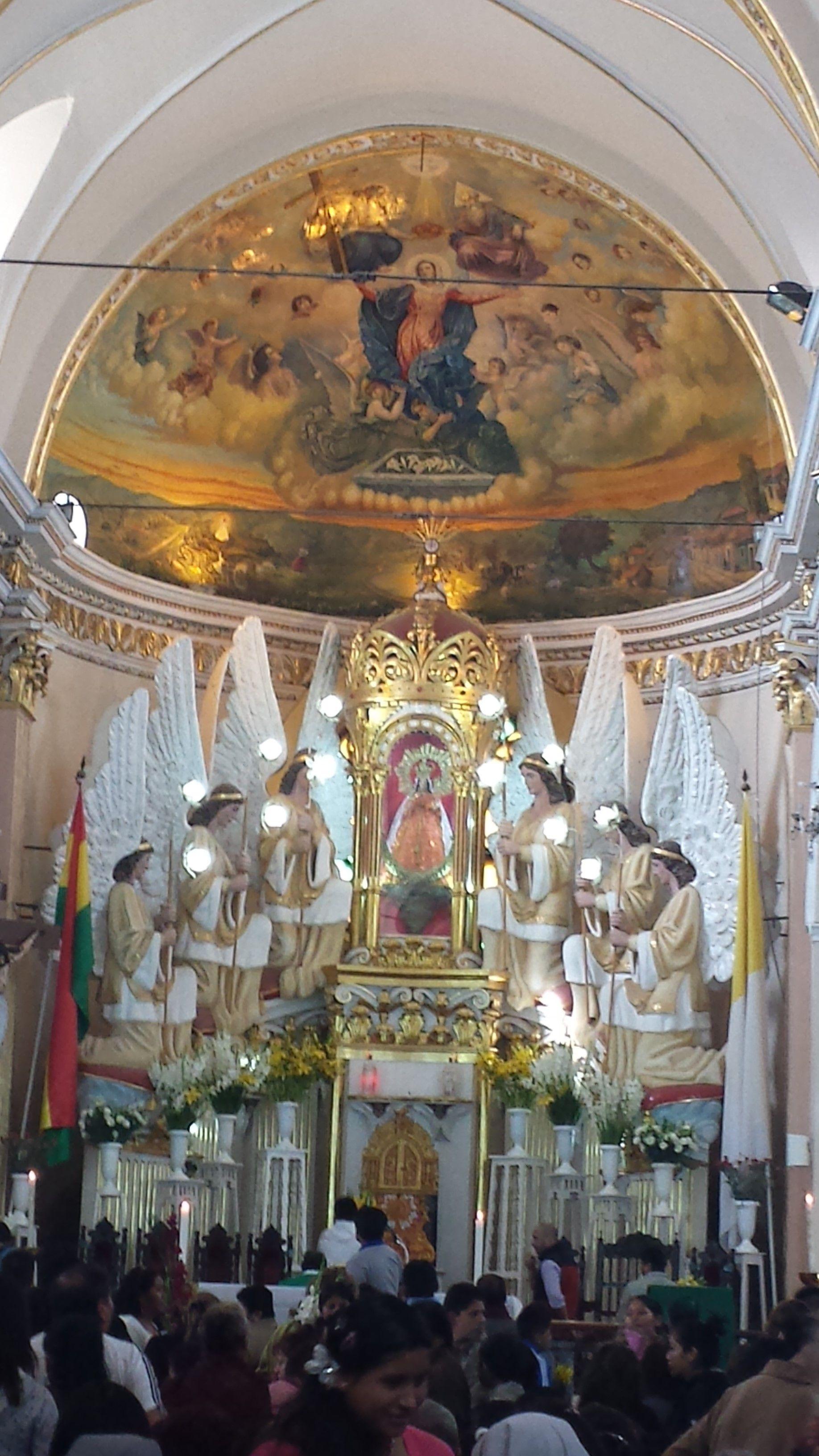 Iglesia En Quillacollo Virgen De Urkupina Virgen De Urkupina Bolivia Iglesia