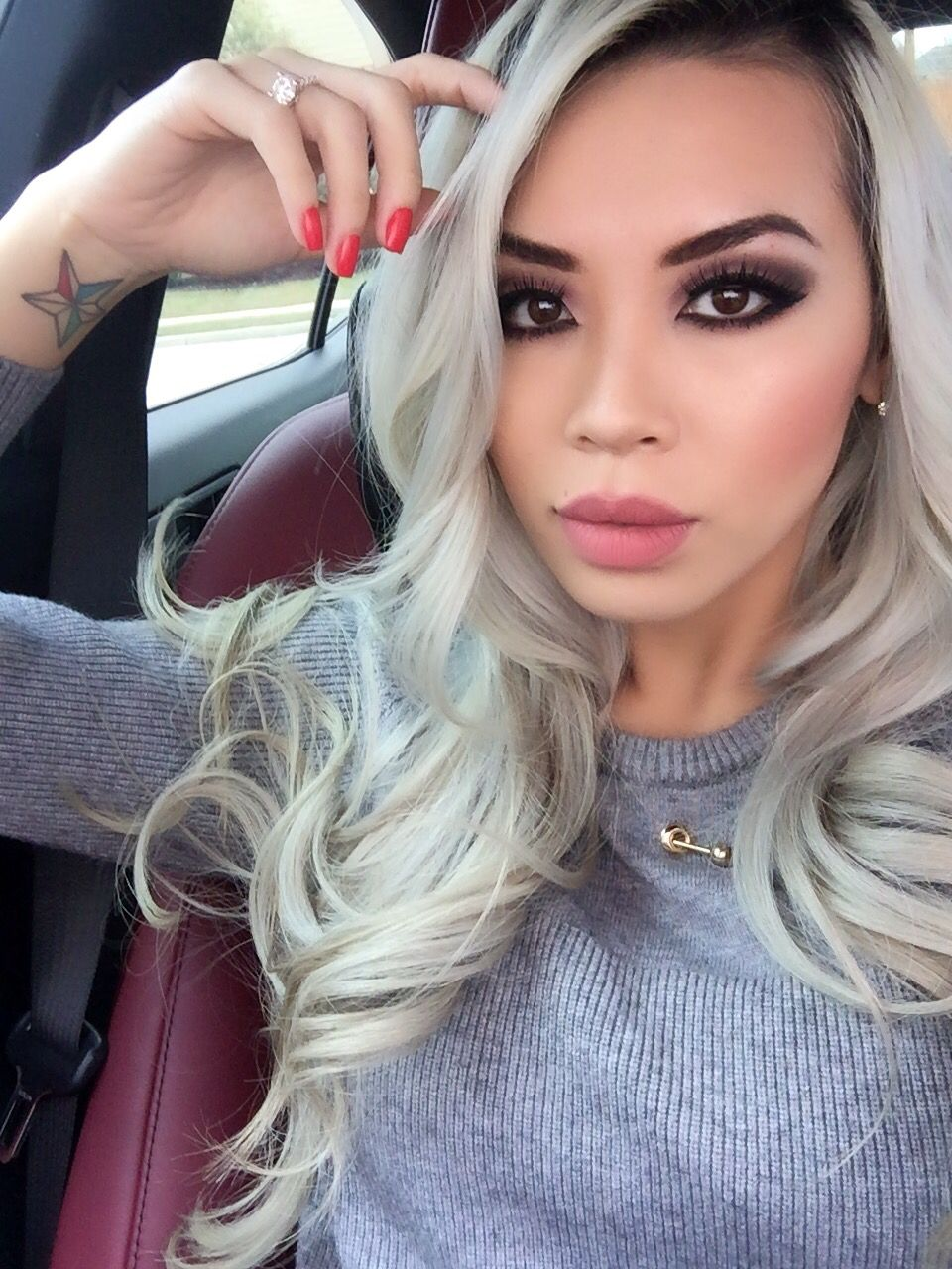 Hair Haircolor Turquoise Lavender Blonde Silver Wella