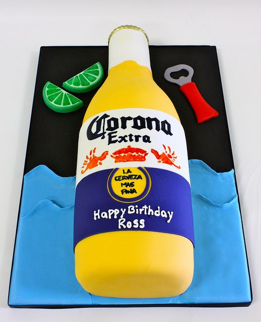 corona beer bottle corona beer beer cakes and beer bottles