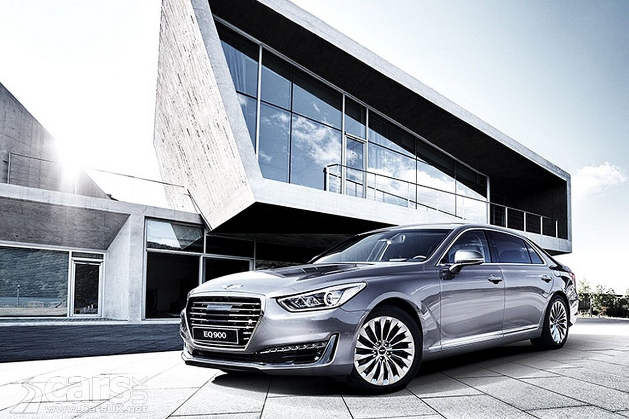 Genesis G90 revealed by Hyundai. But will the G90 reach