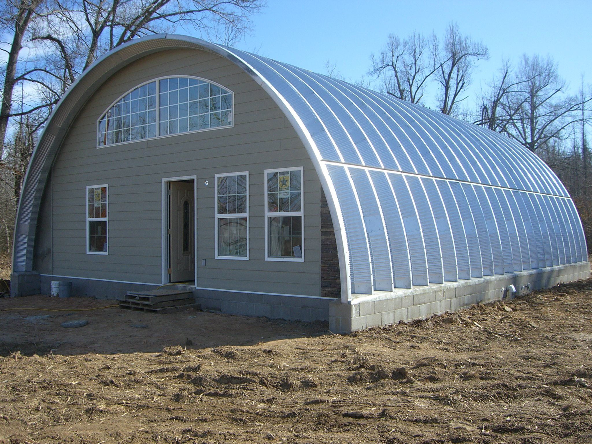 Steel Master Arched home Quonset homes, Quonset hut