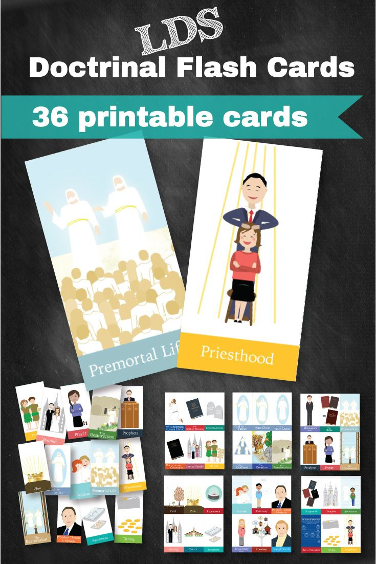 Doctrinal Flash Cards for All Ages and General Conference