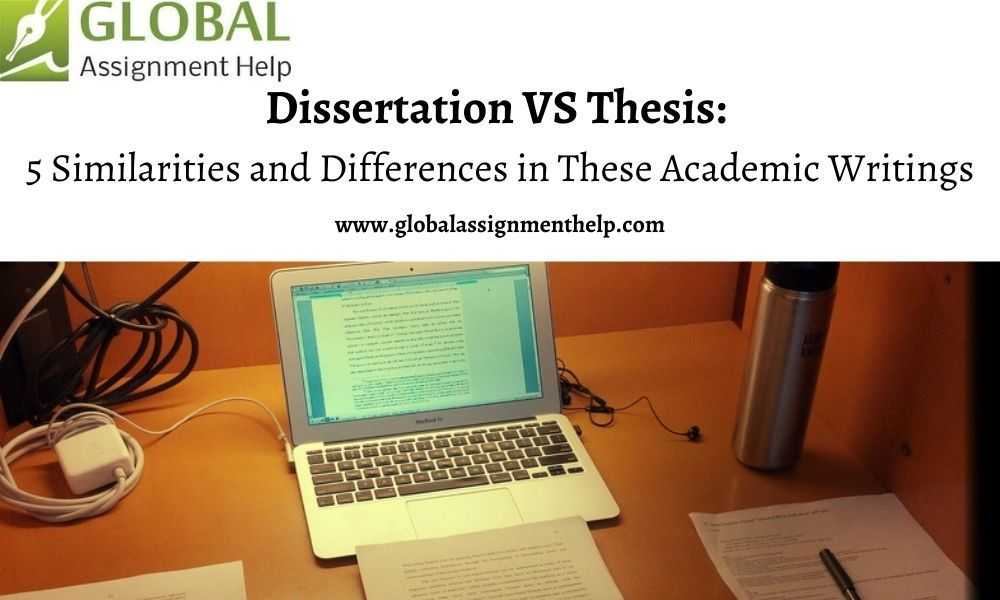 Dissertation V Thesi 5 Similaritie And Difference In These Academic Writing 2020 Thesis
