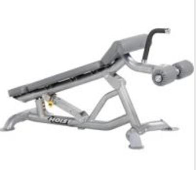 Hoist Adjustable Flat Decline Bench Bench Workout Gym Hoist