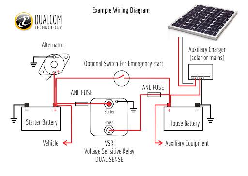 Vsr Relay Google Arama Relay Circuit Alternator