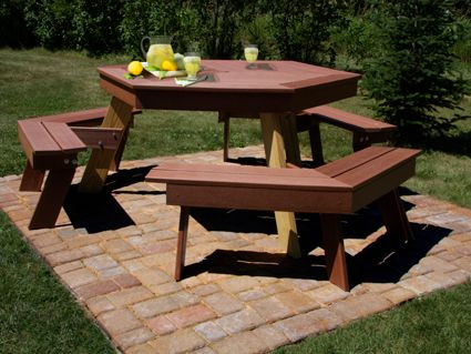 Composite Decking Picnic Table Table Design Ideas