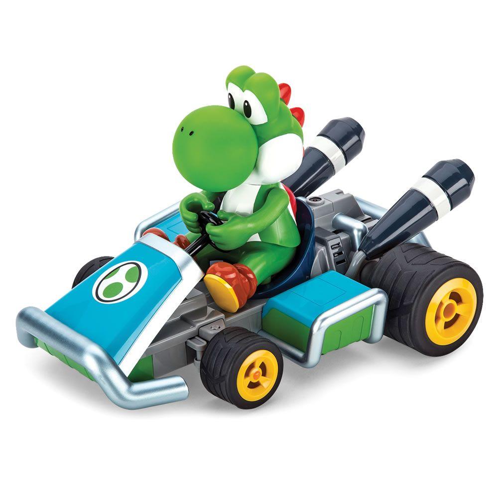 The Rc Mario Kart Racers Hammacher Schlemmer Yoshi Mario Kart Mario Kart 7