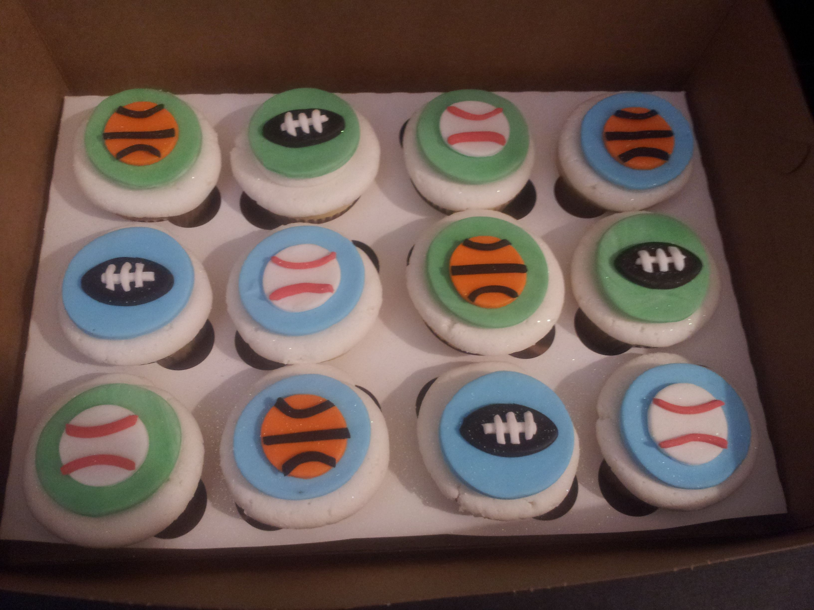 Sports Themed Baby Shower Cakes