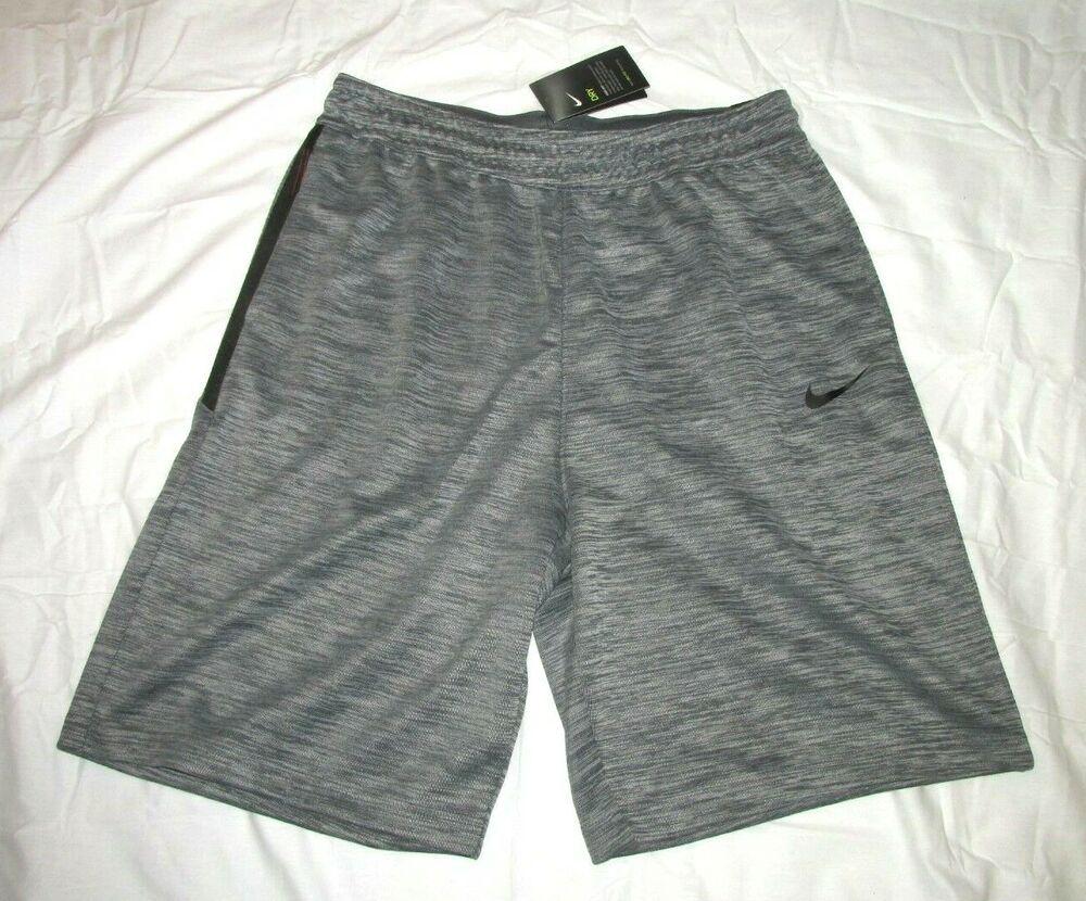 Nike Spotlight Mens Basketball Shorts Grey Black Nike Activewearshorts With Images Basketball Shorts Nike Basketball Shorts Black Outfit