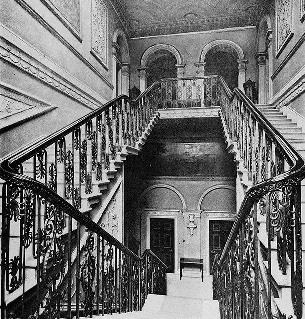 Harewood House, English Architecture, Stairs