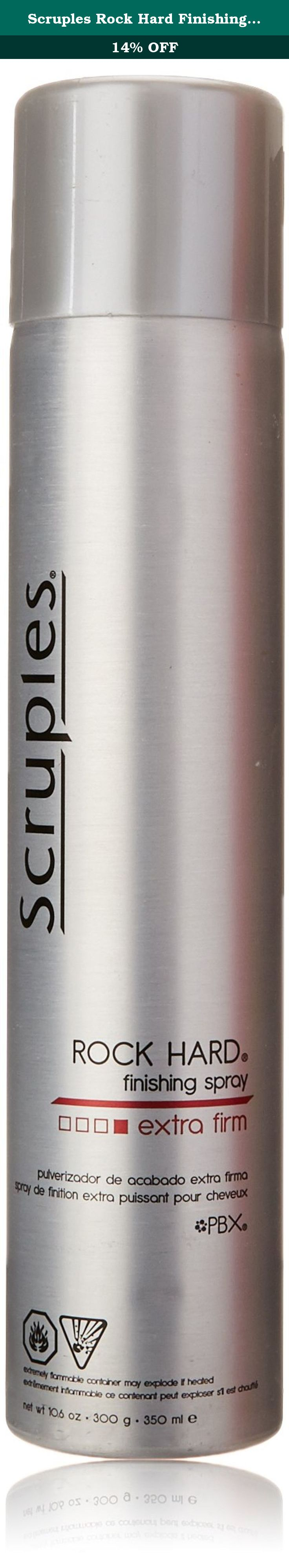 Scruples Rock Hard Finishing Spray, 10.6 Fluid Ounce. This