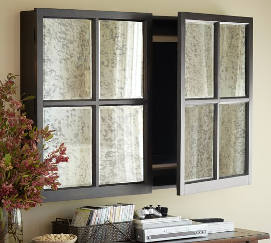 Mirror Cabinet Tv Covers In 2020 Tv Wall Cabinets