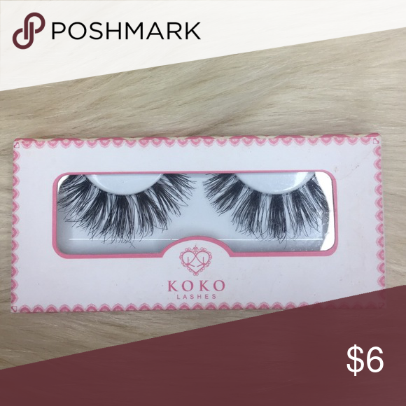 fb2687464f8 KOKO Lashes (Soho) These are gorgeous, but bold. They're very similar to  wispies from Ardell, but much longer. Brand new. Makeup False Eyelashes