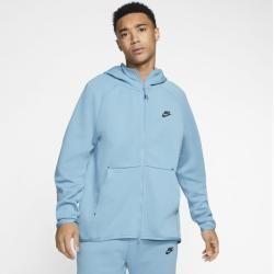 Nike Sportswear Tech Fleece Herren-Hoodie mit durchgehendem Reißverschluss - Blau Nike #warmclothes