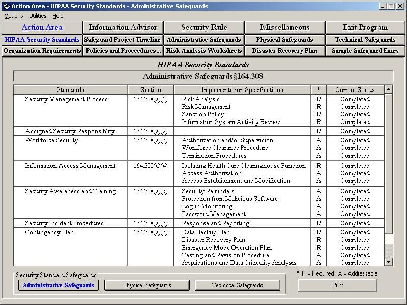 Doctor Office HIPAA Security Rule Assistant provides HIPAA covered - security incident report