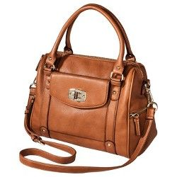 Merona® Satchel Handbag with Removable Crossbody Strap in Butternut at Target