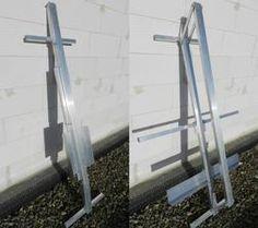 Fiber glass insulation cutter from aluminum profiles