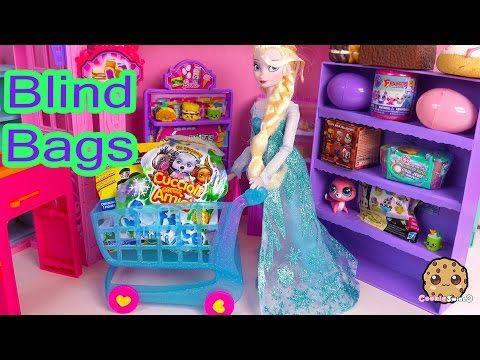 Disney Frozen Queen Elsa Doll Shops For Shopkins Season 3