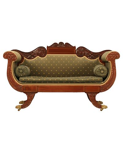 American Federal Style Sofas U0026 Settees   Home Decor