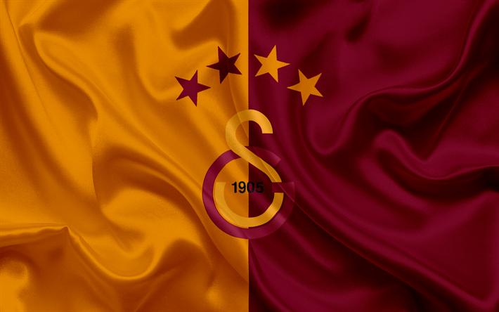 Lataa kuva Galatasaray, Jalkapallo, Istanbul, tunnus, Galatasaray-logo, Turkki, Turkkilainen jalkapalloseura