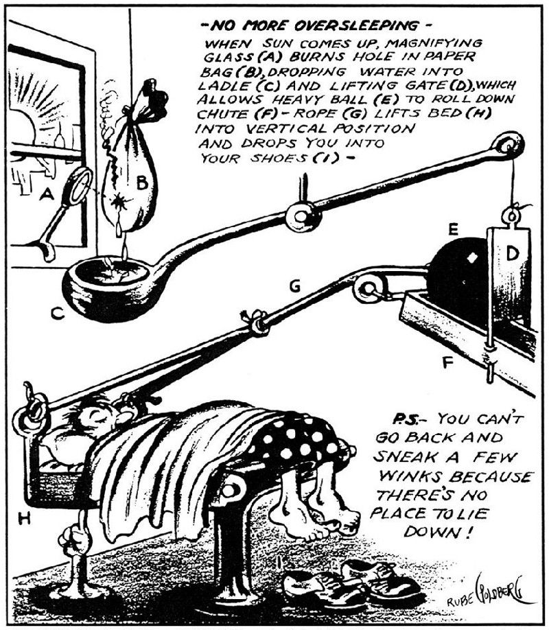Rube Goldberg Cartoons