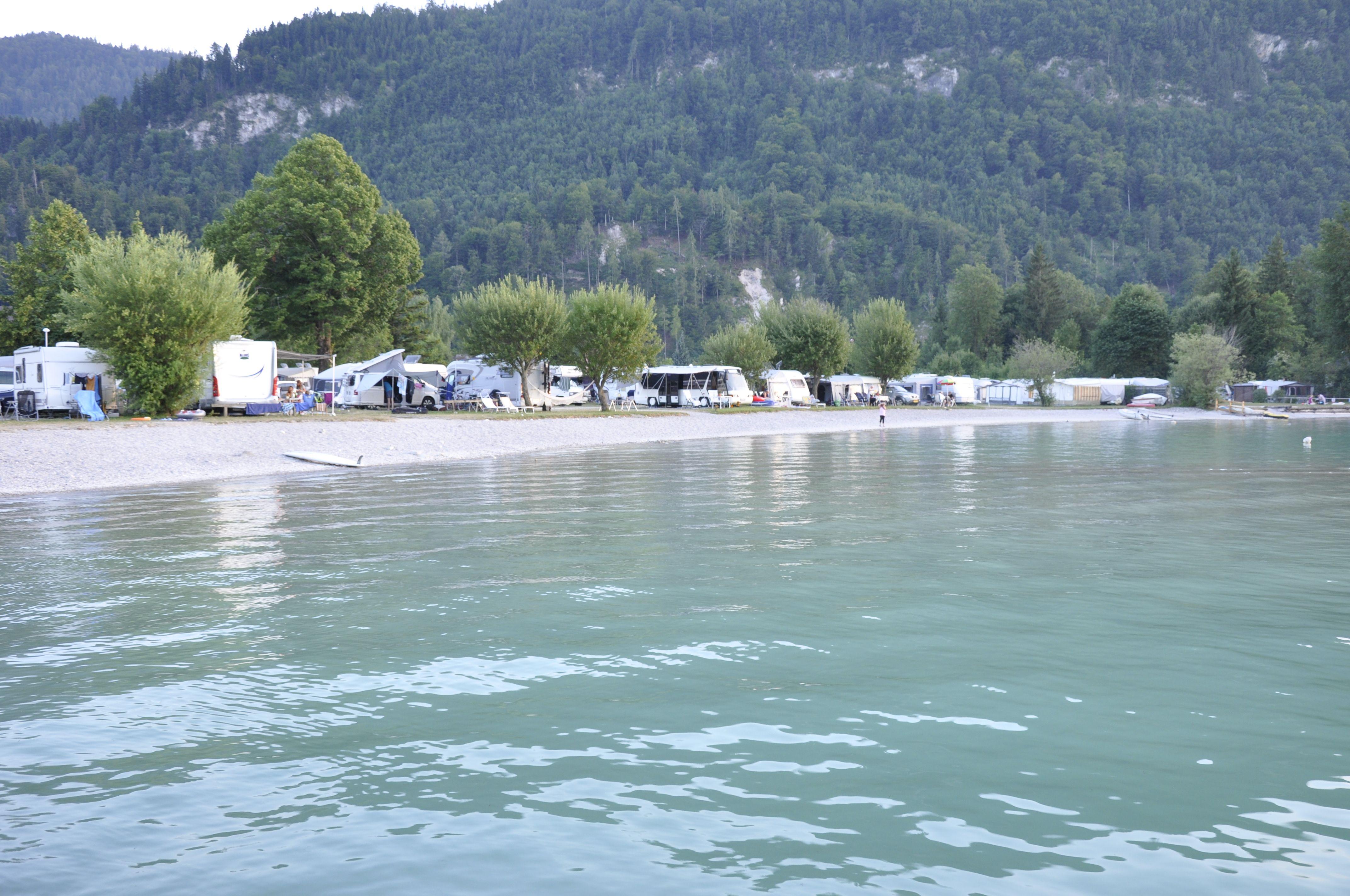 Romantik-Camping Wolfgangsee Lindenstrand | Outdoor, Water ...
