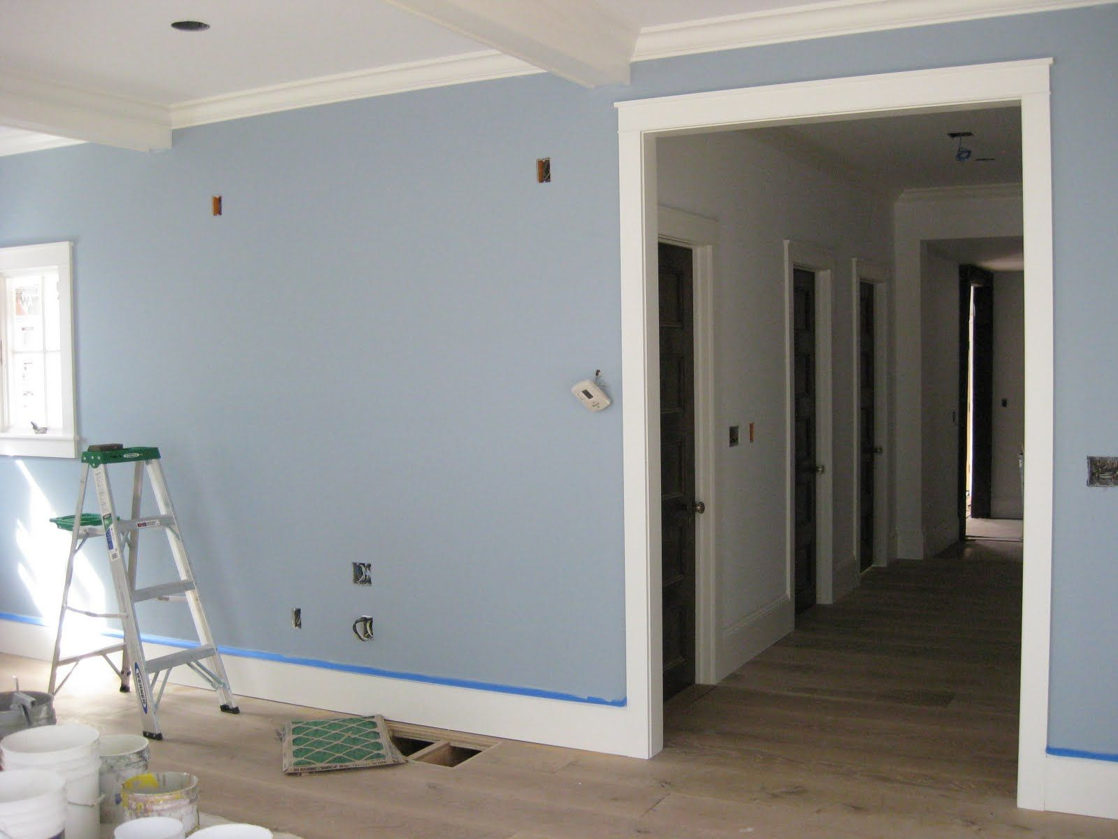 Nantucket fog by benjamin moore the color we picked for the kitchen ...
