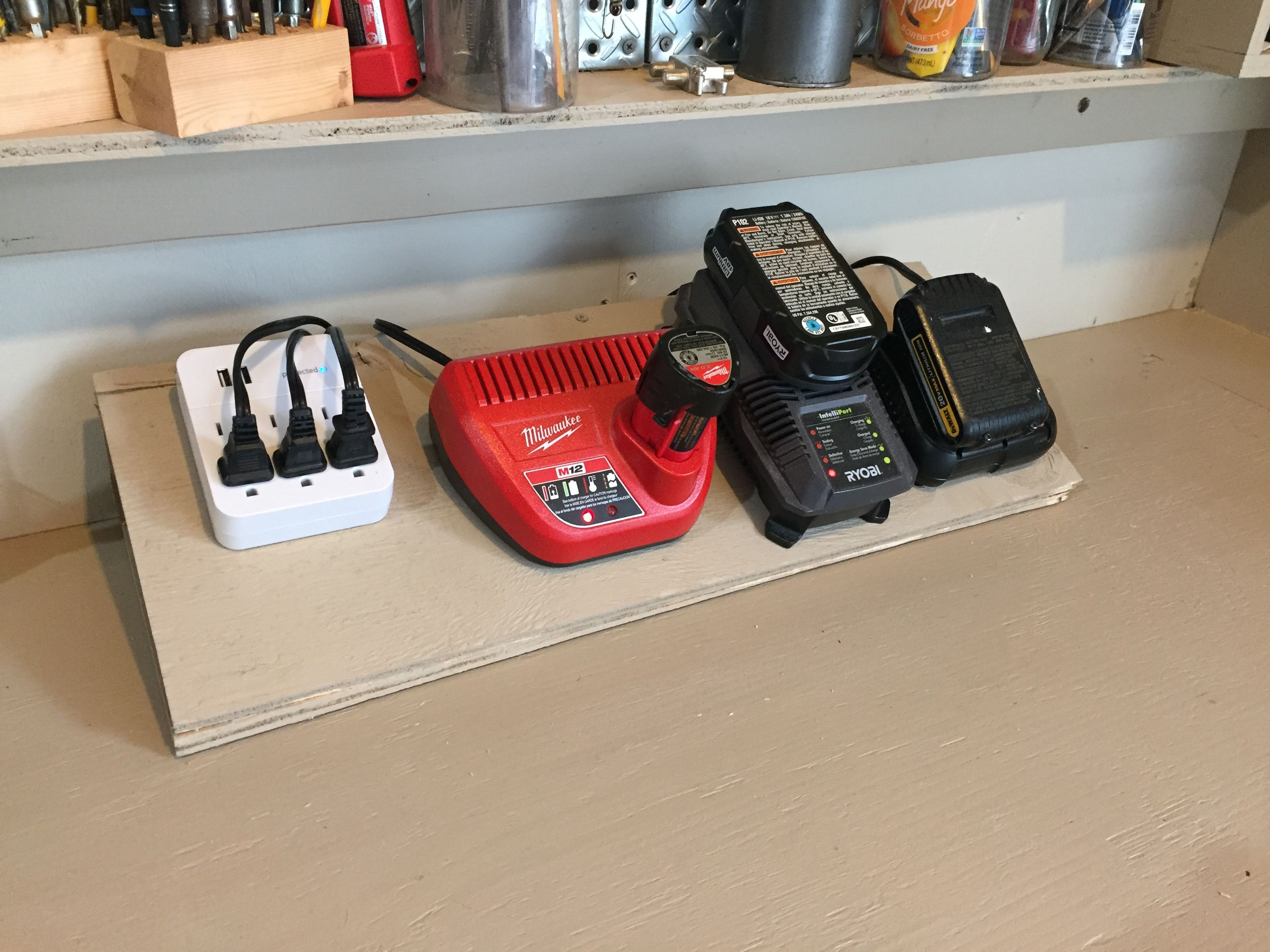 Power Tool Charger Station