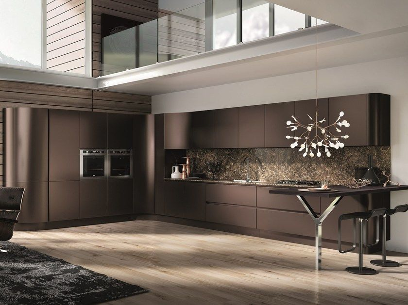 Download the catalogue and request prices of Domina   linear kitchen ...