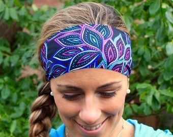 Buy Any 2 Get 3rd Free Yoga Headband Feathers Workout Headband