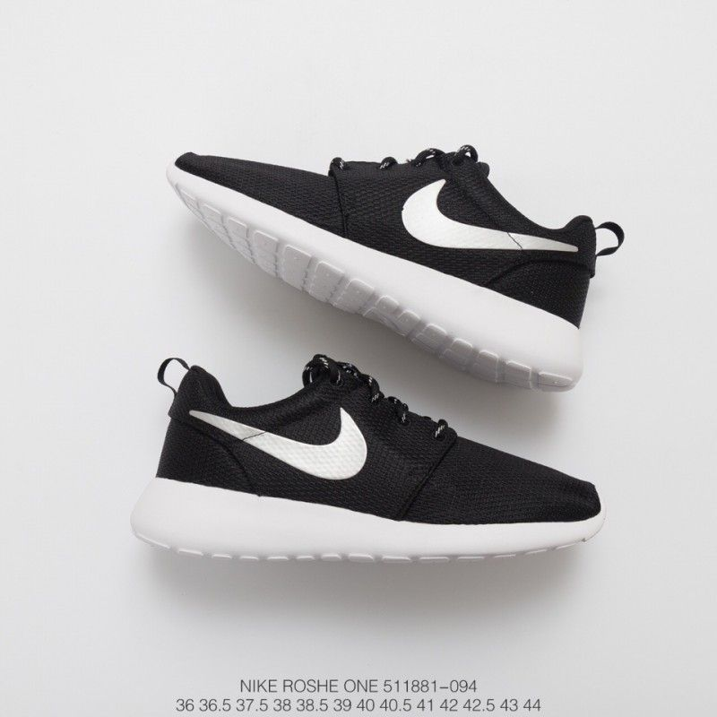 neutral Descriptivo bolita  Nike Roshe One Black,881 094 FSR ROSHE ONE Black Silver Nike Roshe One  casts the meaning of Zong Zen in almost every part of th | Black nike  shoes, Black nikes, White nikes