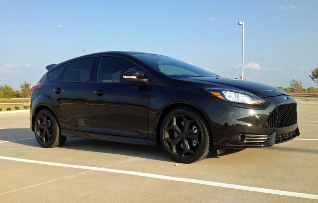 Ford Focus St Tuxedo Black Ford Focus St Ford Focus Trucks And