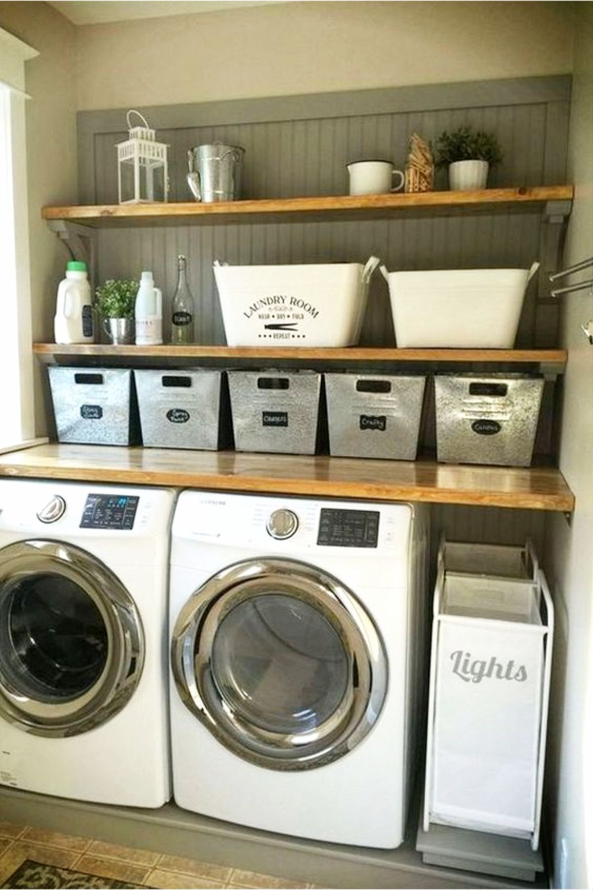 Laundry Nook Ideas We LOVE images